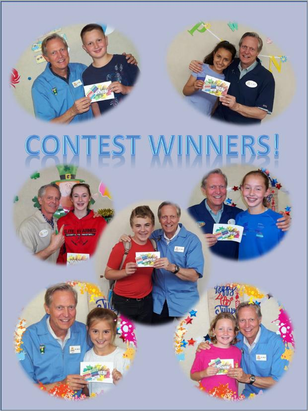 Contest Winners!