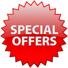 Special Offers 2018